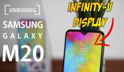 Unboxing Samsung Galaxy M20