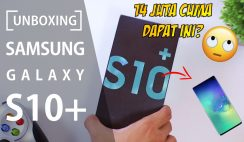 unboxing samsung s10+
