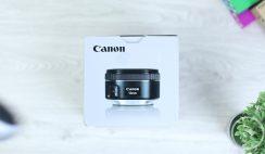 Unboxing Lensa Canon F1.8 50mm STM - Contoh Video dan Perbedaan Dengan Youngnou F1.8 50mm