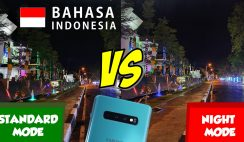 Night Mode Samsung Galaxy S10+ Bahasa Indonesia