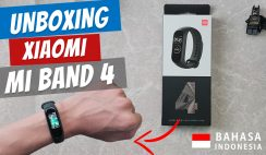 Unboxing Xiaomi Mi Band 4 Indonesia