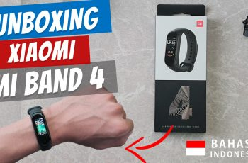 Unboxing Xiaomi Mi Band 4 Indonesia