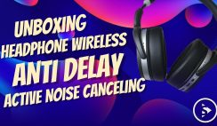 Unboxing Headphone Noise Canceling aptX Anti Delay Termurah Sennheiser - Sennheiser HD 4.50 BTNC