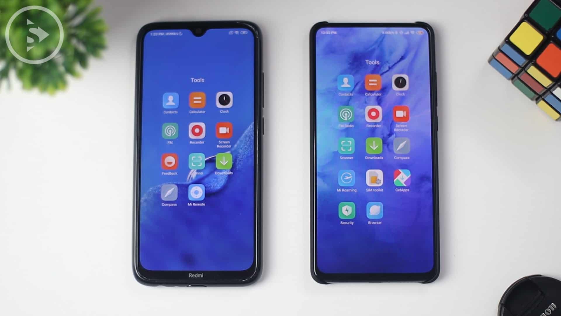 Perubahan Desain Icon Baru & Update System Design - Update Fitur Baru di MIUI 11 - Xiaomi Redmi Note 8 MIUI 10 Vs Xiaomi Mi 9T (Redmi K20) MIUI 11