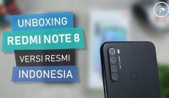 Unboxing Xiaomi Redmi Note 8 Versi Rilis Resmi Indonesia Warna Hitam (Space Black) Beli di Mi Store