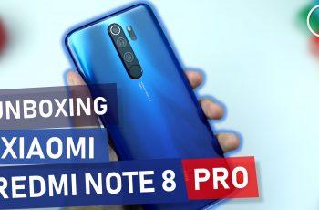 Unboxing Redmi Note 8 Pro - Ocean Blue