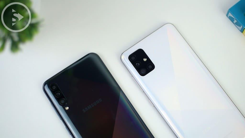 Desain Kamera Samsung A51 Vs A50s - Unboxing Samsung Galaxy A51 Indonesia Putih (Prism Crush White) 2020 - Perbedaan Galaxy A51 Vs A50s
