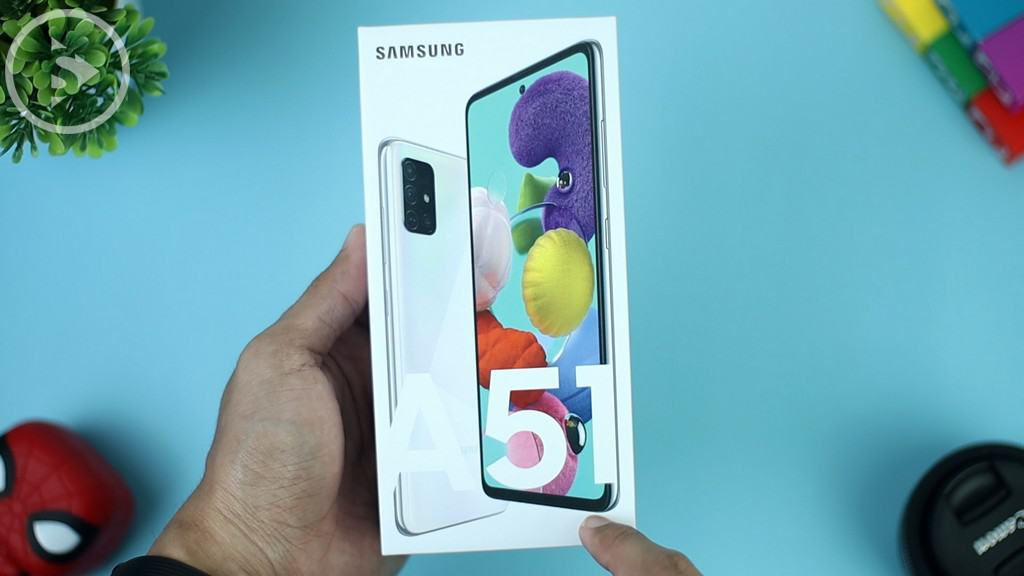 Kotak Samsung A51 - Unboxing Samsung Galaxy A51 Indonesia Putih (Prism Crush White) 2020 - Perbedaan Galaxy A51 Vs A50s