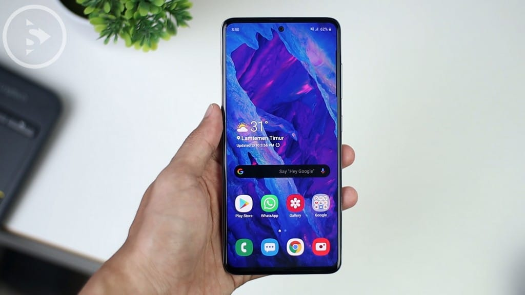 LAYAR - Review Samsung Galaxy A51 Indonesia Warna Putih - Perbedaan A51 Vs A50s - Tes Kamera dan Gaming PUBG