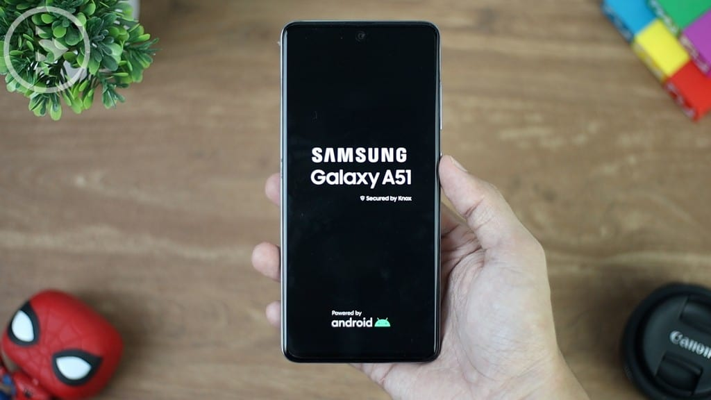 Start up Awal Samsung A51 - Unboxing Samsung Galaxy A51 Indonesia Putih (Prism Crush White) 2020 - Perbedaan Galaxy A51 Vs A50s