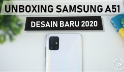 Unboxing Samsung Galaxy A51 Warna Putih - Preview Perbedaan Desain Samsung Galaxy A51 Vs Galaxy A50s