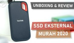 Unboxing dan Review SanDisk Extreme Portable SSD 500GB - SSD Eksternal Murah Terbaik 2020 Indonesia