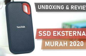 Unboxing dan Review SanDisk Extreme Portable SSD 500GB - SSD Eksternal Murah Terbaik 2020 Indonesia