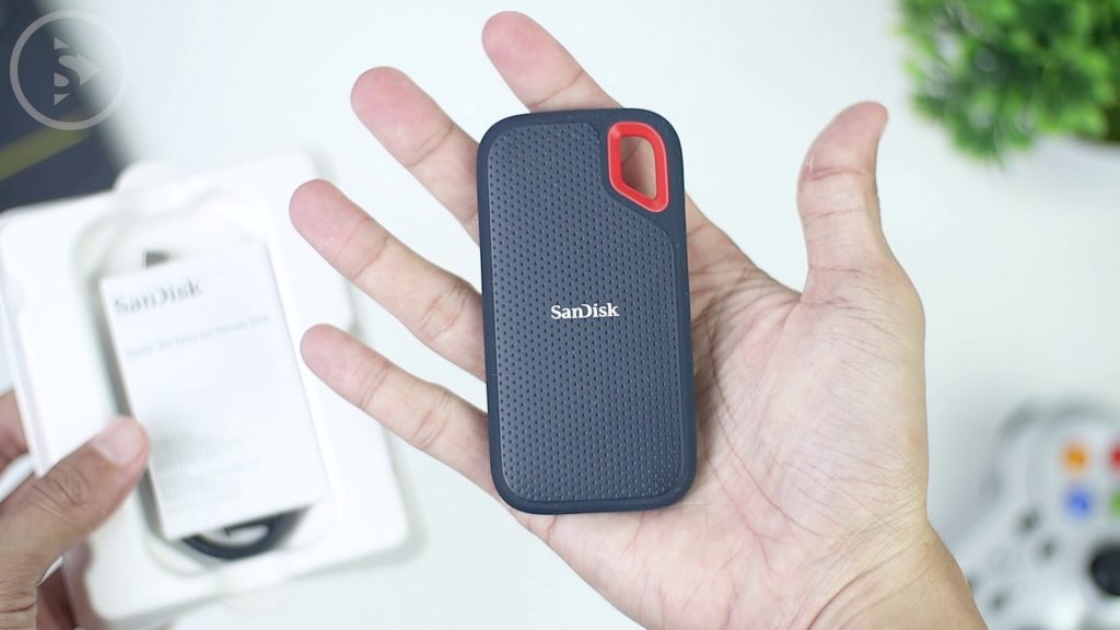 Unboxing dan Review SanDisk Extreme Portable SSD 500GB - SSD Eksternal Murah Terbaik 2020 Indonesia - Ukuran SSD Sandisk Extreme Portable