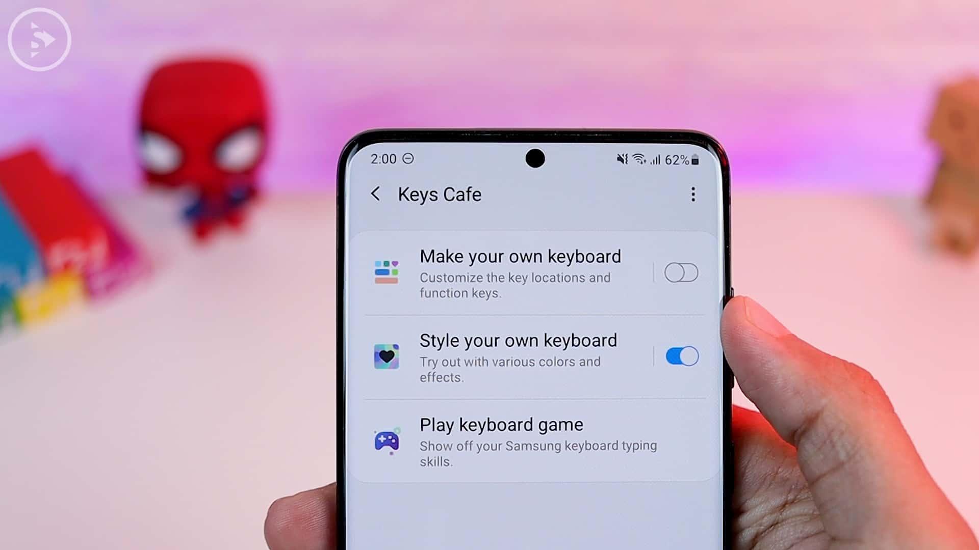 Tips Aplikasi Keys Cafe Terbaru Good Lock - Make your own keyboard