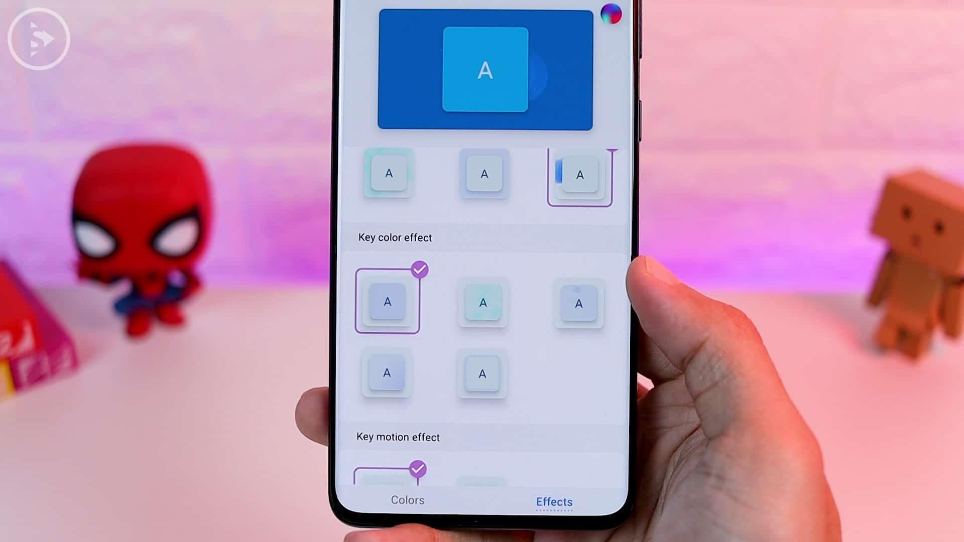 Tips Aplikasi Keys Cafe Terbaru Good Lock - animasi key color effect