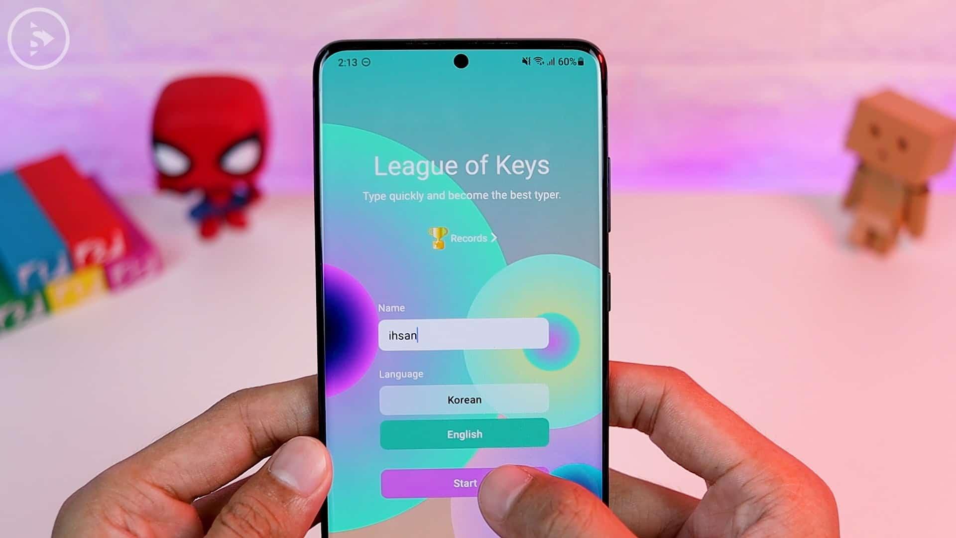 Tips Aplikasi Keys Cafe Terbaru Good Lock - gameplay sentence practice