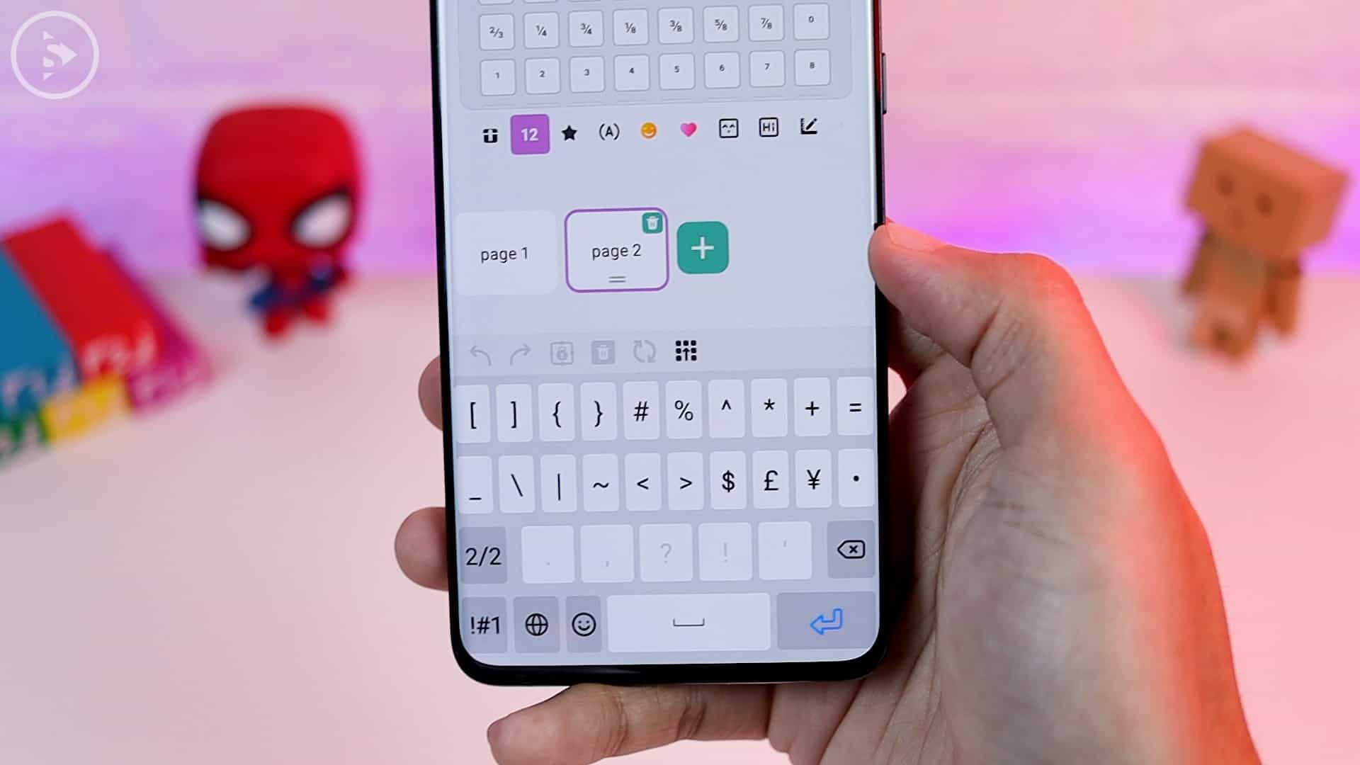 Tips Aplikasi Keys Cafe Terbaru Good Lock - ganti huruf dan simbol ada 2 page