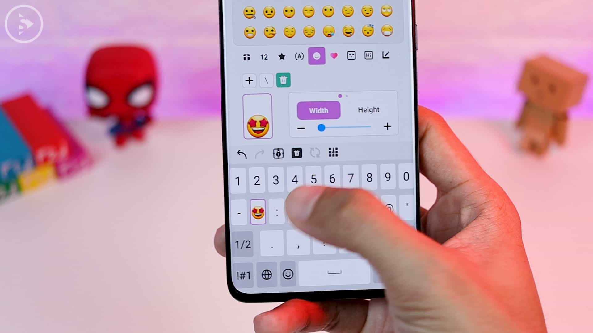 Tips Aplikasi Keys Cafe Terbaru Good Lock - ganti simbol dengan emoji