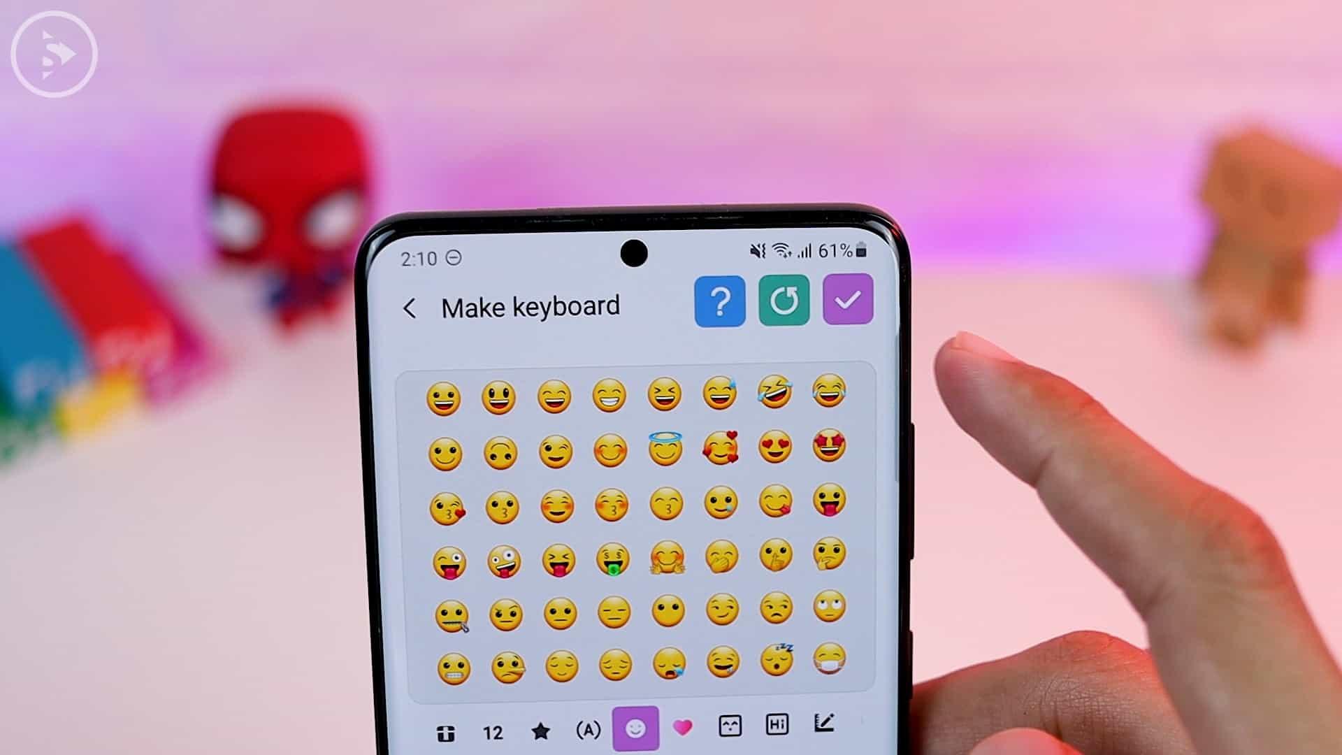 Tips Aplikasi Keys Cafe Terbaru Good Lock - save keyboard yang sudah dikostumisasi
