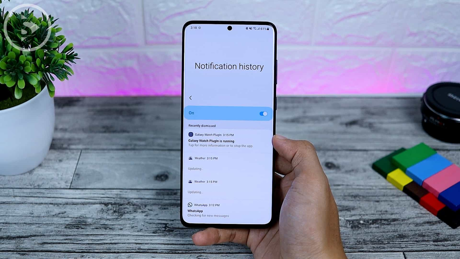 25 Fitur Baru di One UI 3.0 Dengan Android 11 - New Notification History Option