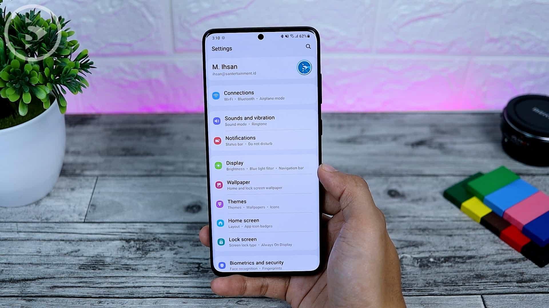 25 Fitur Baru di One UI 3.0 Dengan Android 11 - New Setting Design