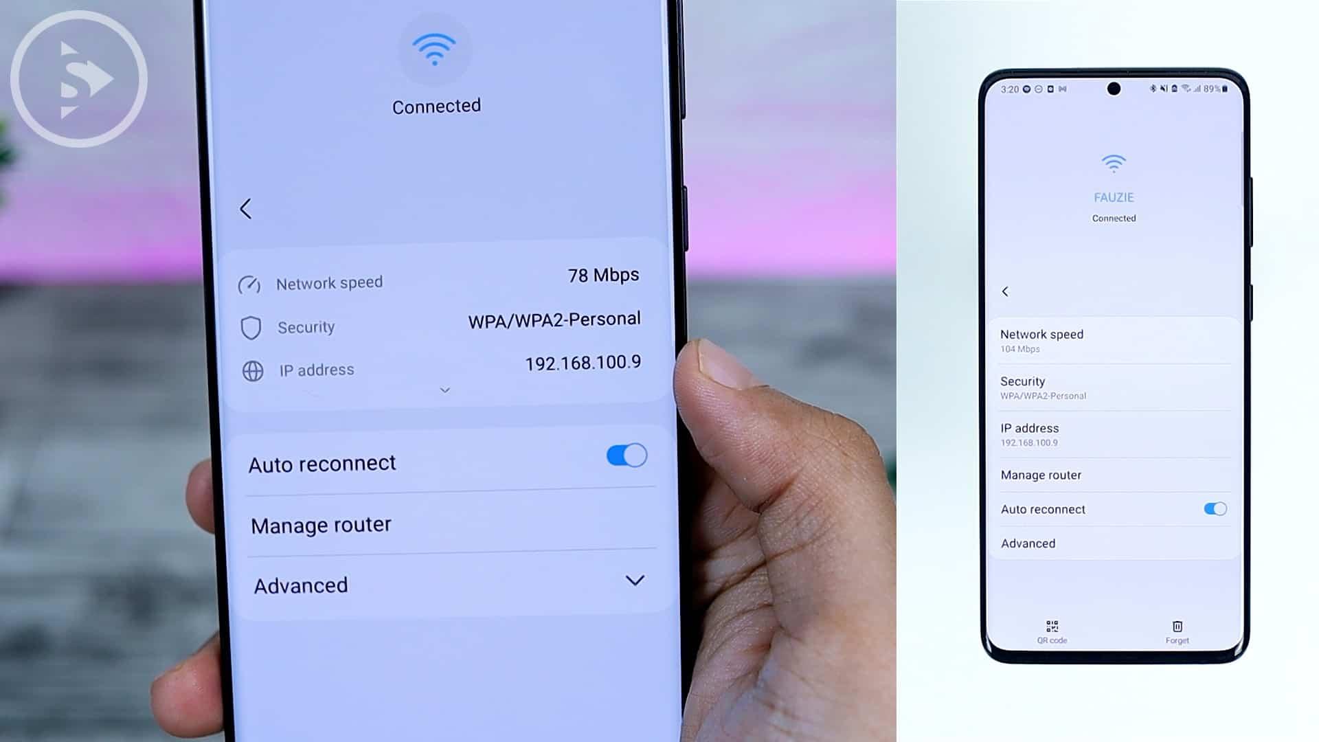 25 Fitur Baru di One UI 3.0 Dengan Android 11 - New Wi-Fi Look