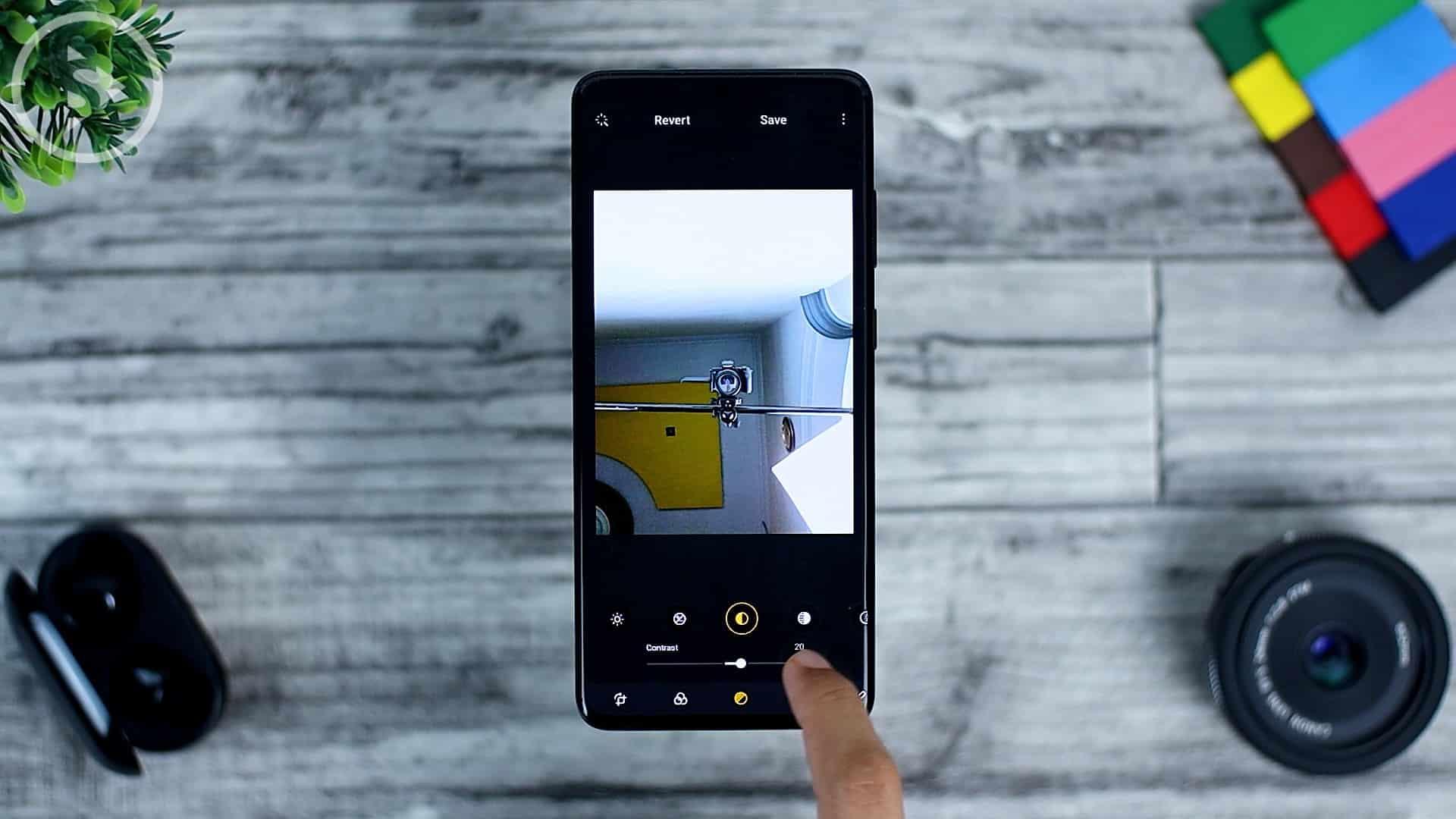 25 Fitur Baru di One UI 3.0 Dengan Android 11 - Revert Edited Photo