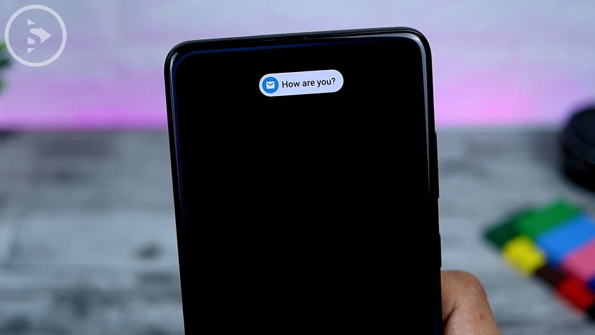 25 Fitur Baru di One UI 3.0 Dengan Android 11 - Tampilan Brief Notification