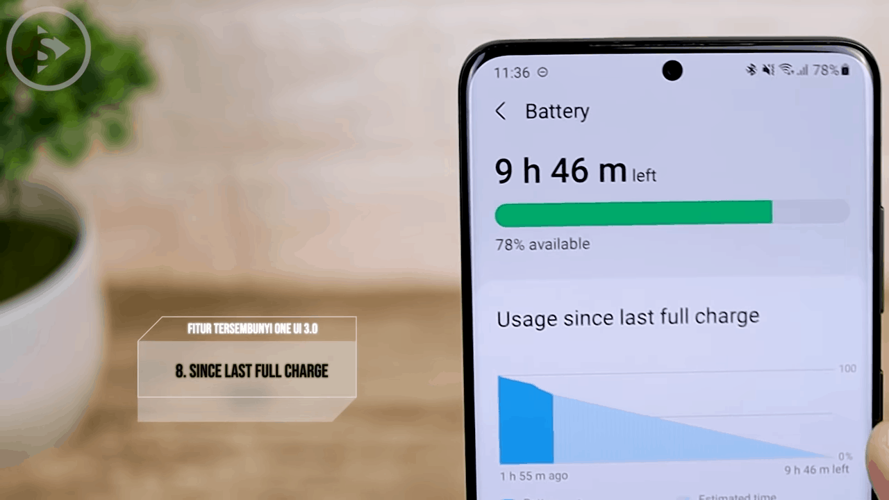 Battery Usage Since Last Full Charge