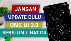 JANGAN Update ke One UI 3.0