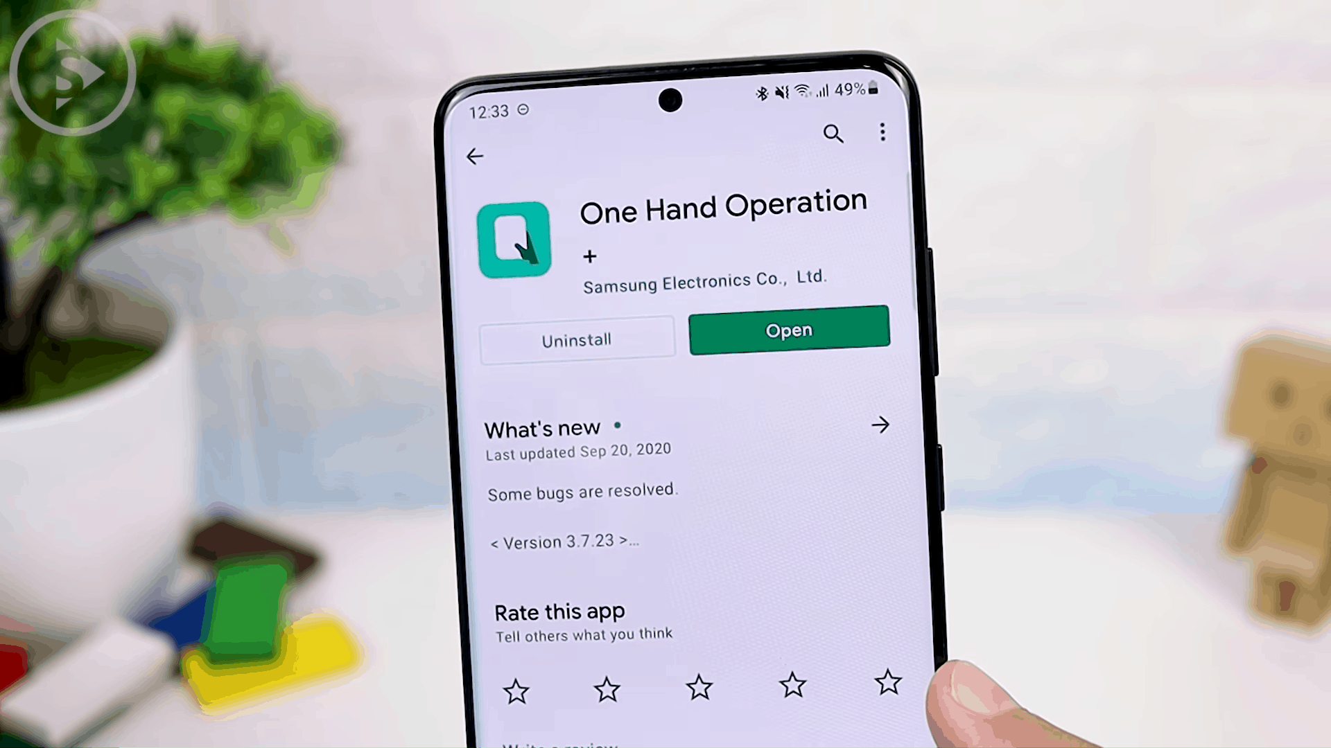 One Hand Operation+ (Long Swipe)