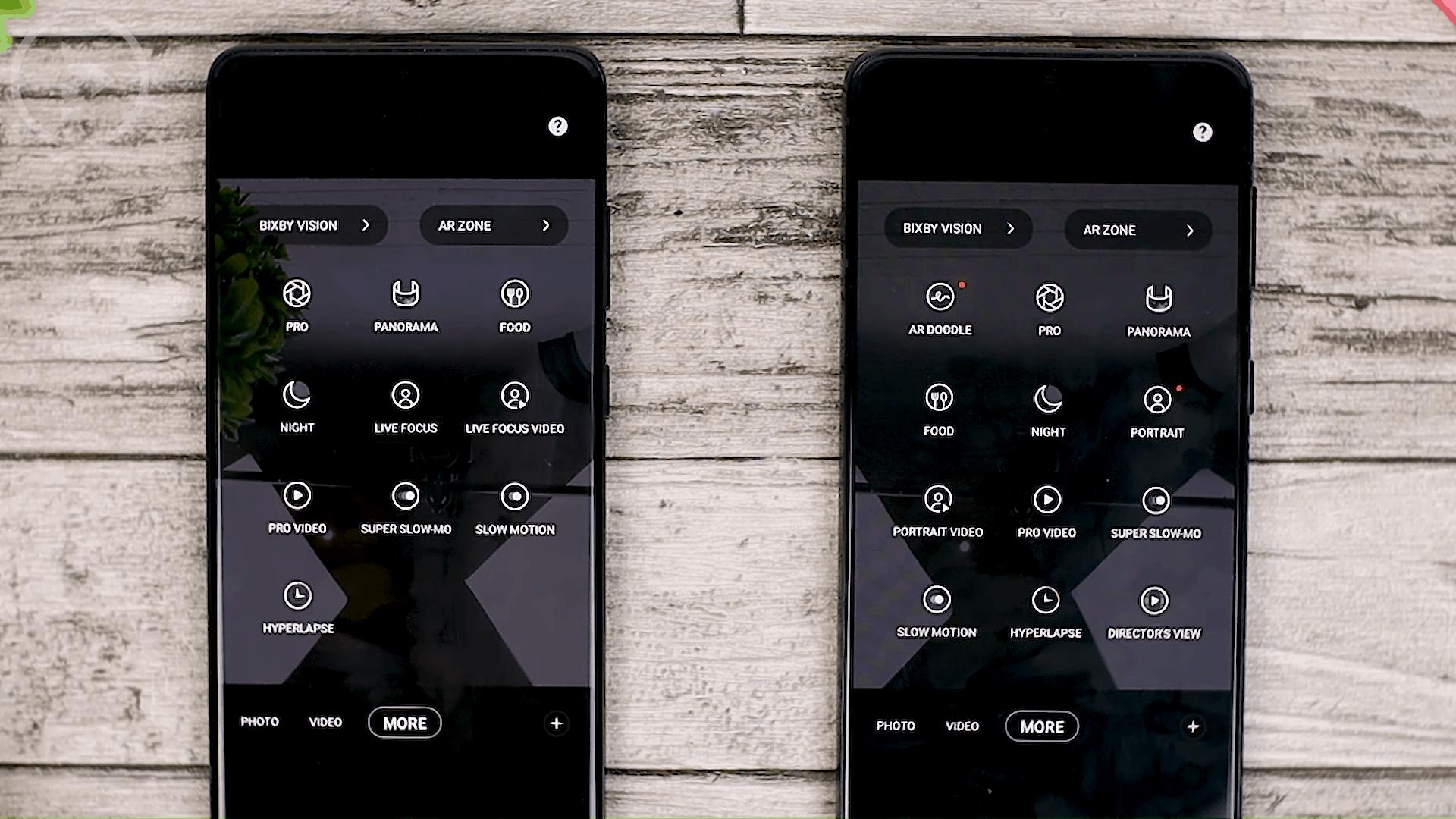Camera Settings - Cek Fitur Terbaru One UI 3.1 di Samsung S21+ yang Belum Tersedia di One UI 3.0 Samsung S20+ (PART 2)