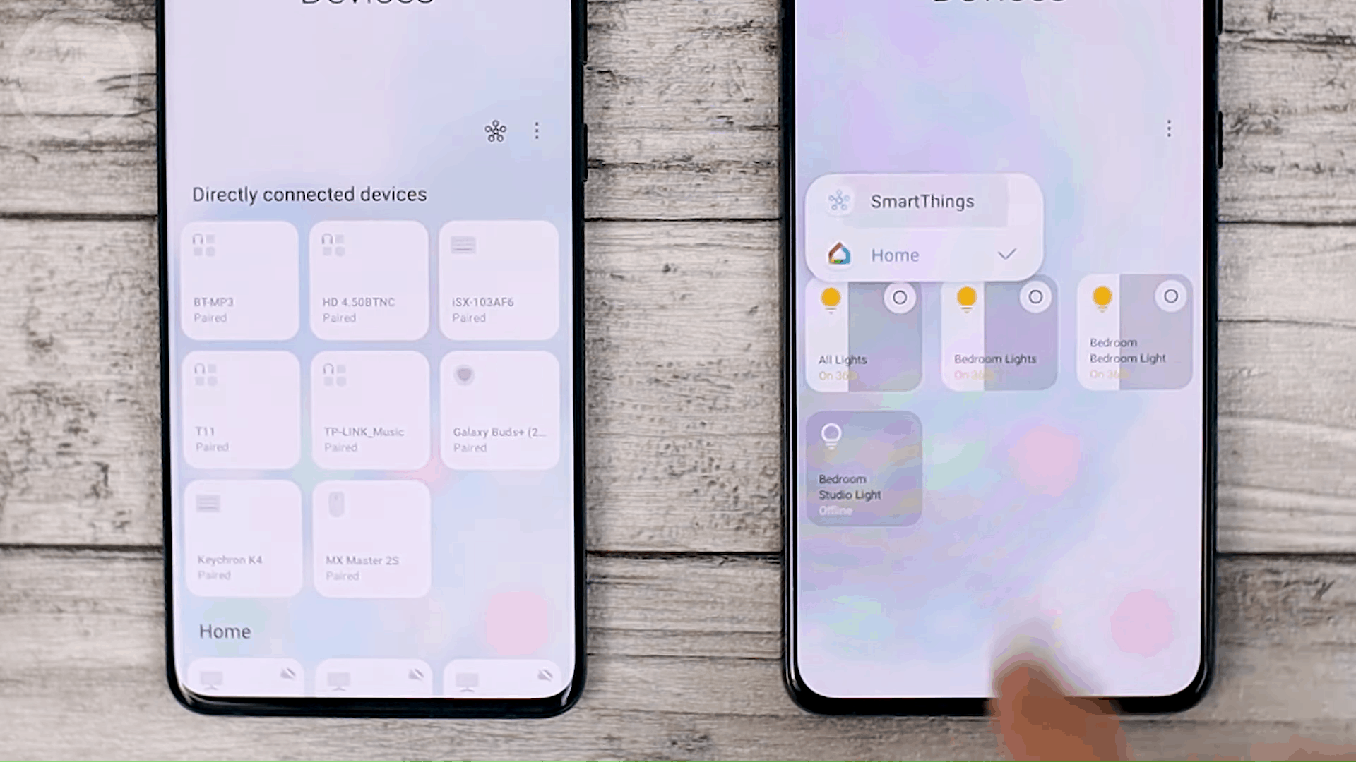 Google Home - Cek Fitur Terbaru One UI 3.1 di Samsung S21+ yang Belum Tersedia di One UI 3.0 Samsung S20+ (PART 2)