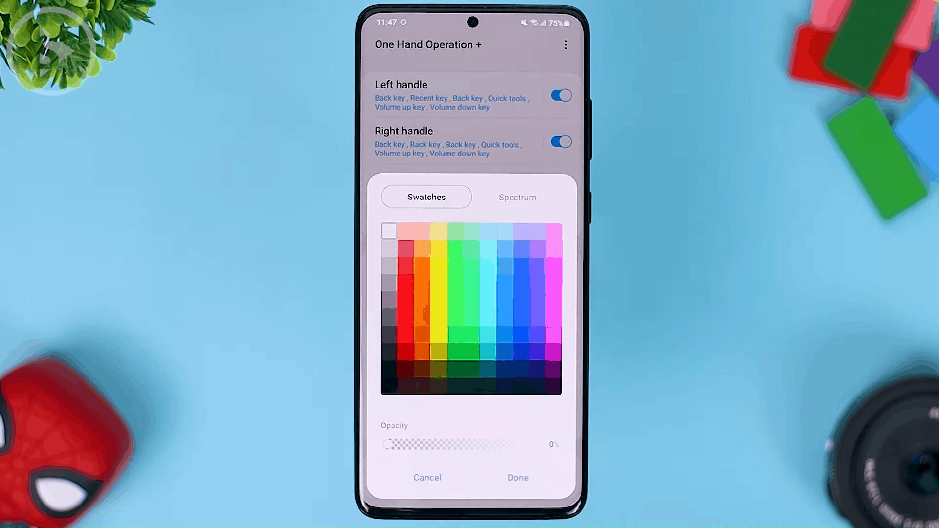 Handle Color - Fitur Terbaru One Hand Operation+ di Update 2021 - Aplikasi WAJIB Untuk Pengguna Gestur Layar Penuh
