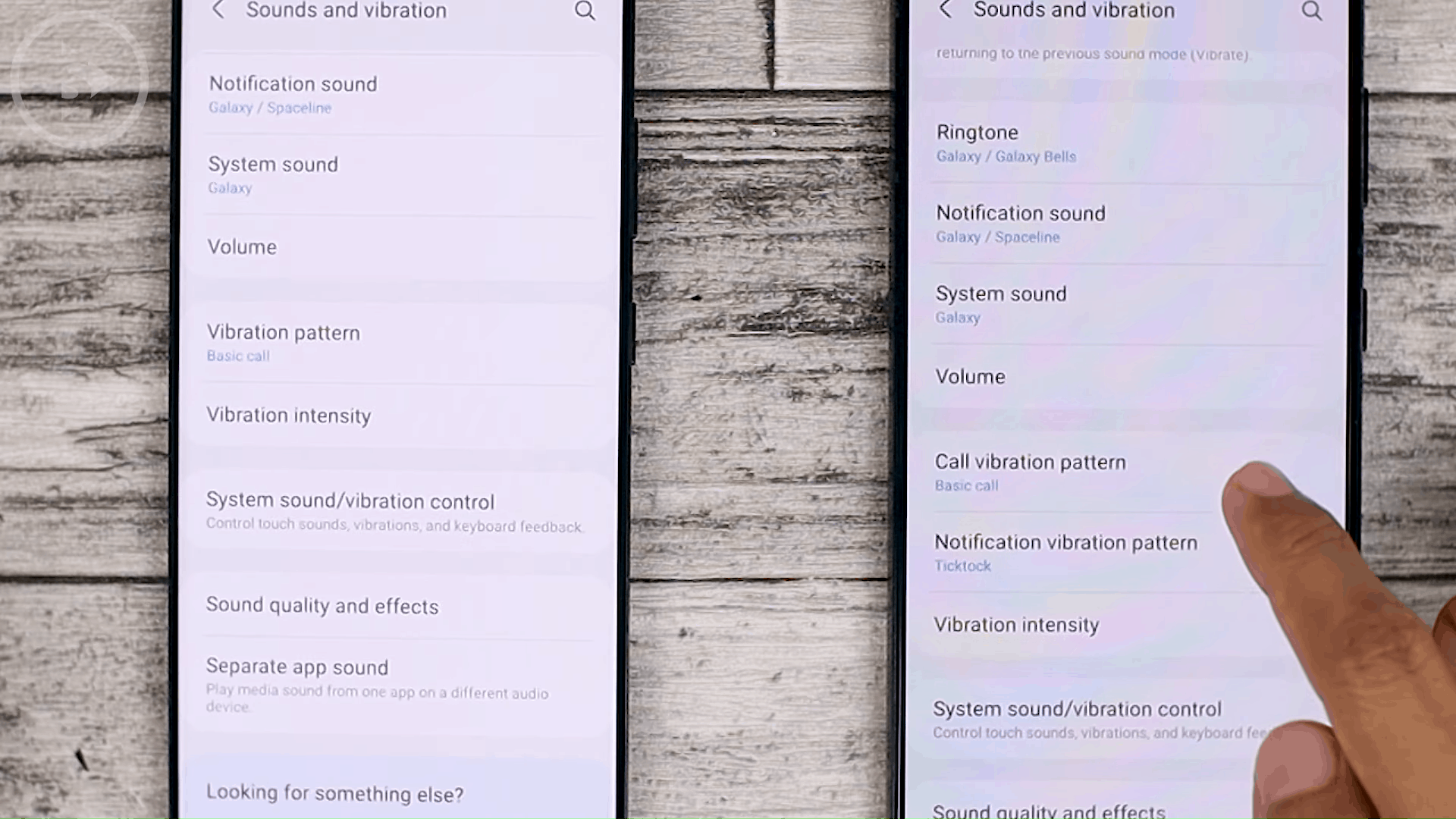 Notification Vibration Pattern - Cek Fitur Terbaru One UI 3.1 di Samsung S21+ yang Belum Tersedia di One UI 3.0 Samsung S20+ (PART 2)