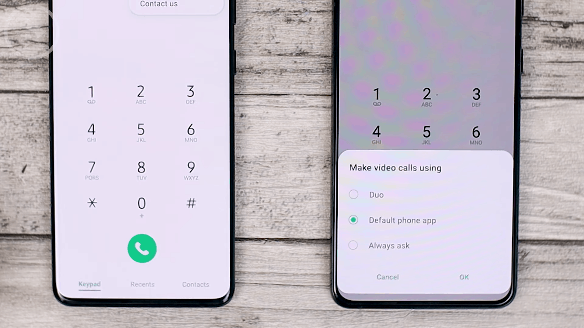 Phone Dial - Cek Fitur Terbaru One UI 3.1 di Samsung S21+ yang Belum Tersedia di One UI 3.0 Samsung S20+ (PART 2)