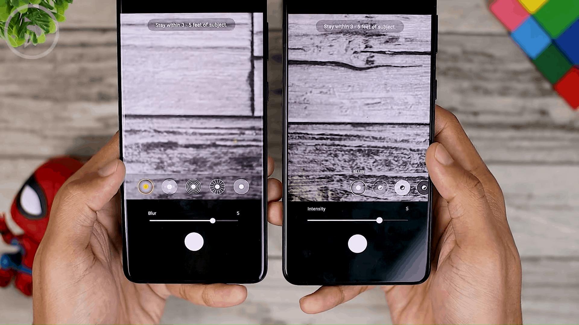 Portrait Effects - Cek Fitur Terbaru One UI 3.1 di Samsung S21+ yang Belum Tersedia di One UI 3.0 Samsung S20+ (PART 2)