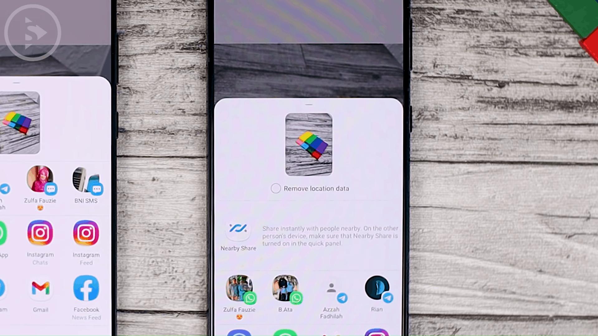 Remove Location Data - Cek Fitur Terbaru One UI 3.1 di Samsung S21+ yang Belum Tersedia di One UI 3.0 Samsung S20+ (PART 1)