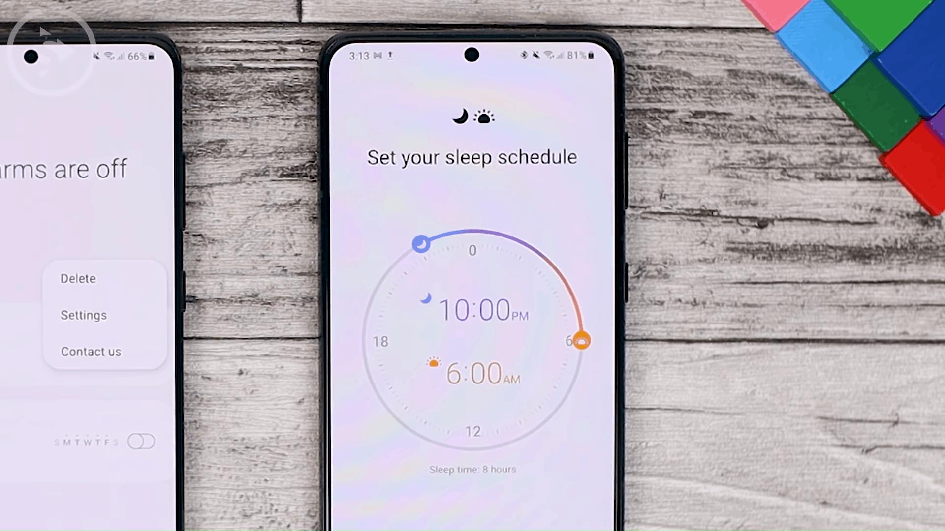 Set Bedtime - Cek Fitur Terbaru One UI 3.1 di Samsung S21+ yang Belum Tersedia di One UI 3.0 Samsung S20+ (PART 1))