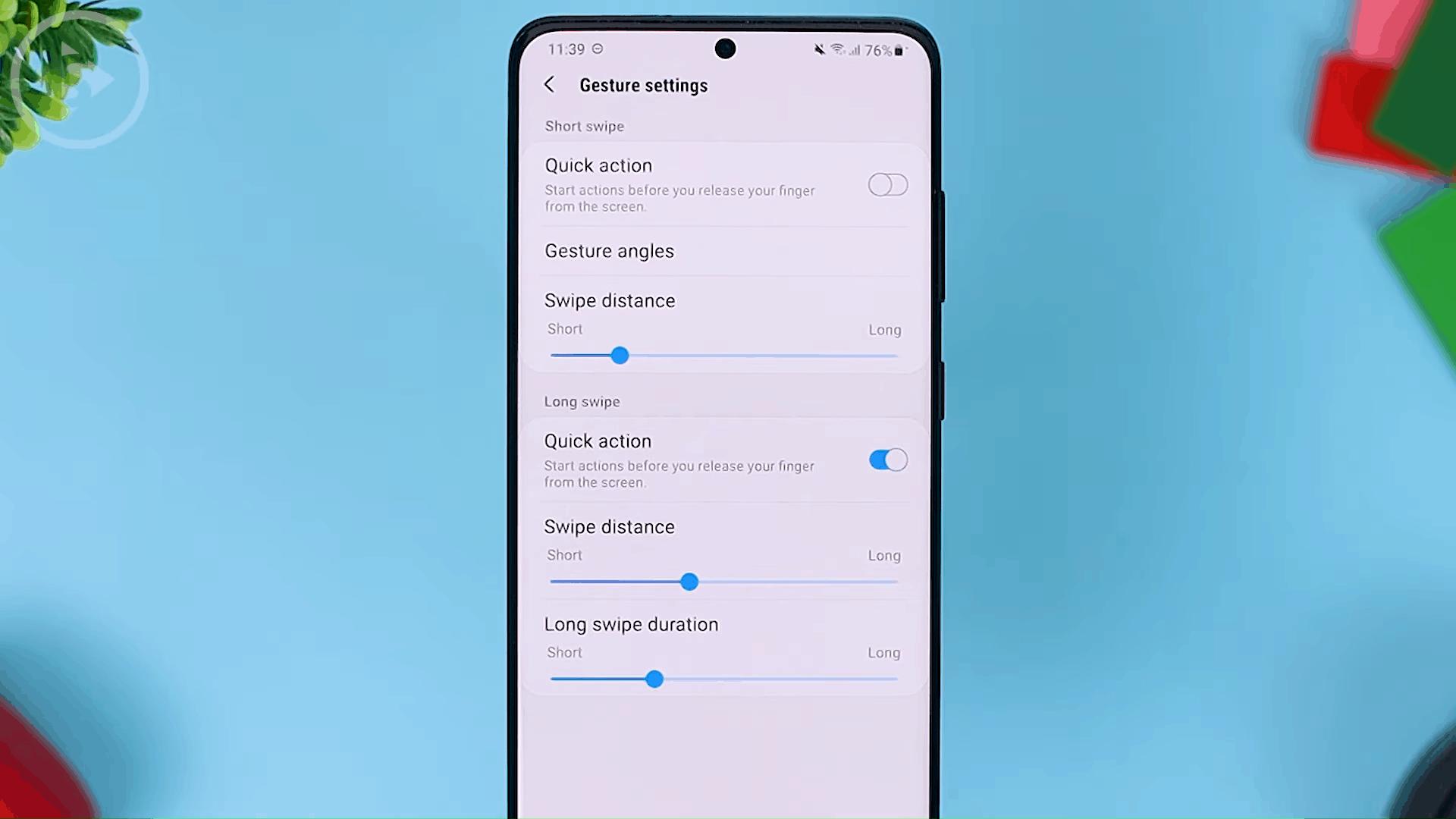 Swipe Distance - Fitur Terbaru One Hand Operation+ di Update 2021 - Aplikasi WAJIB Untuk Pengguna Gestur Layar Penuh