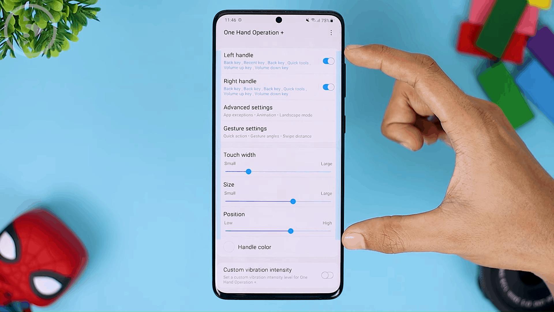 Touch Width - Fitur Terbaru One Hand Operation+ di Update 2021 - Aplikasi WAJIB Untuk Pengguna Gestur Layar Penuh