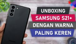 Unboxing Samsung S21+ Black Indonesia