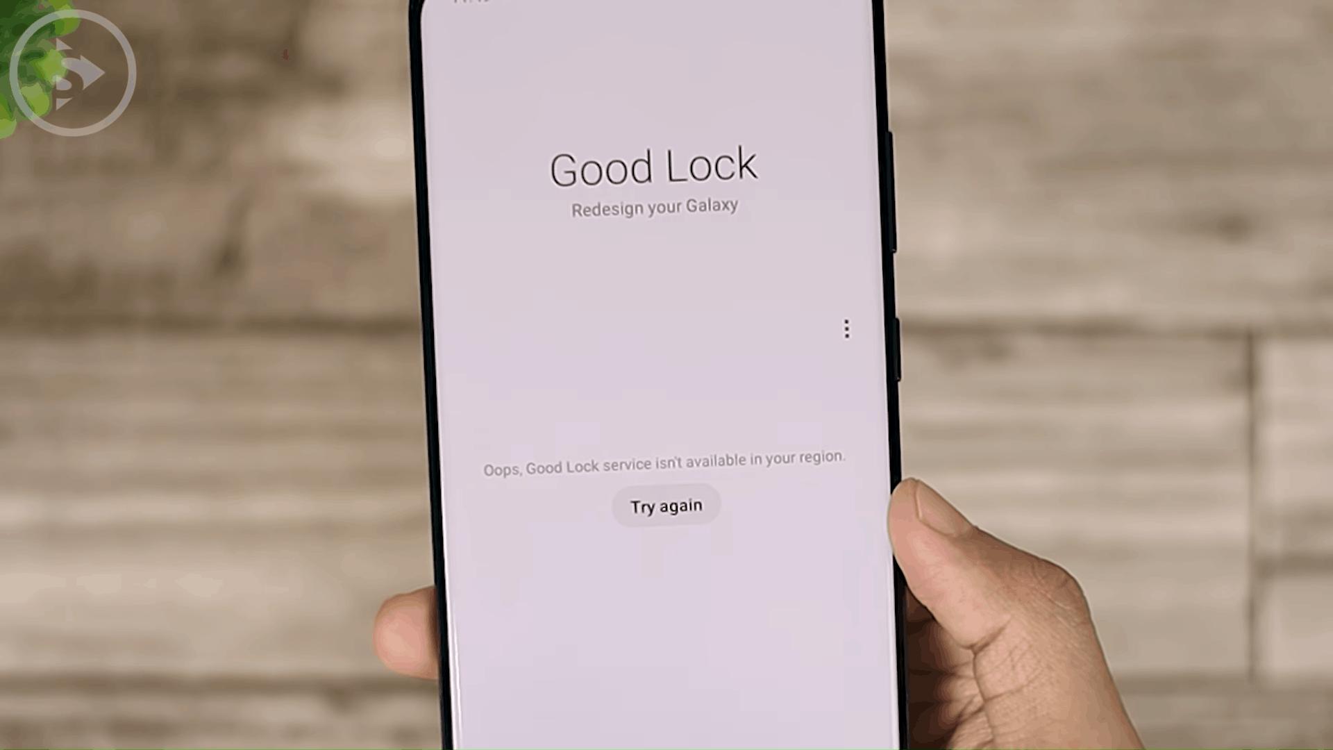 Unsupported Regions GoodLock Display - Tips Lengkap Cara Install GoodLock Terbaru 2021