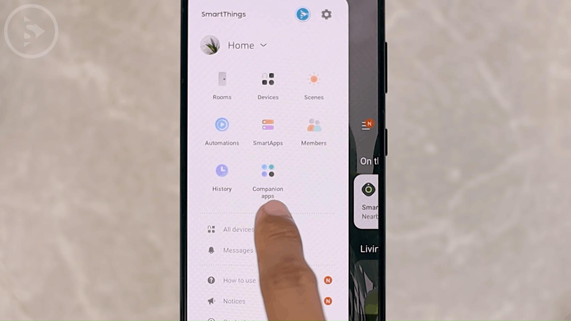 Companion Apps on SmartThings - 8 Fitur Terbaru dan KEREN HP Samsung di One UI 3.0 dan One UI 3.1
