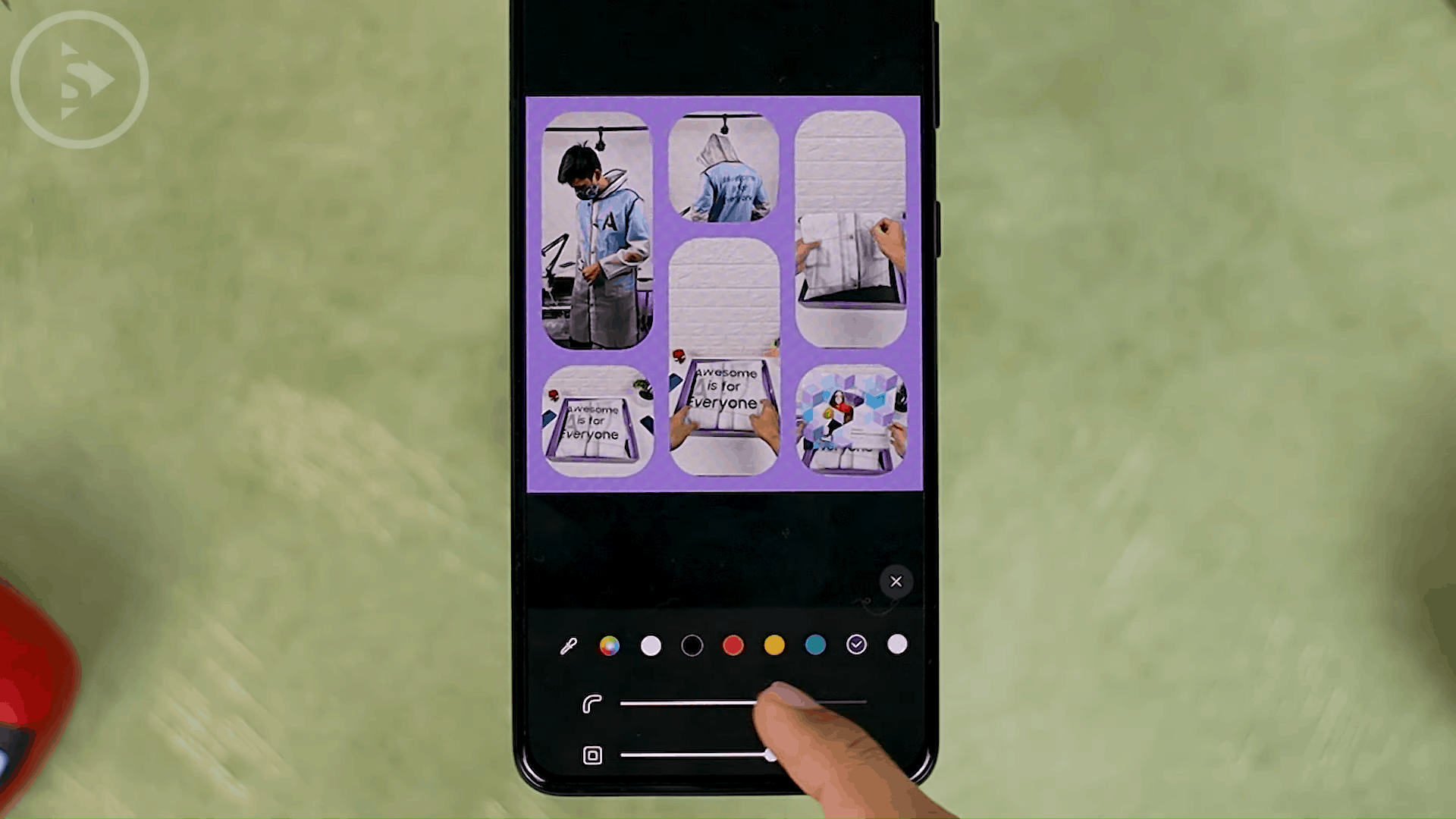 Create Collage - 4 Fitur Terbaru Untuk Edit Foto dan Video di Berbagai Versi One UI Tanpa Perlu Aplikasi Pihak Ketiga