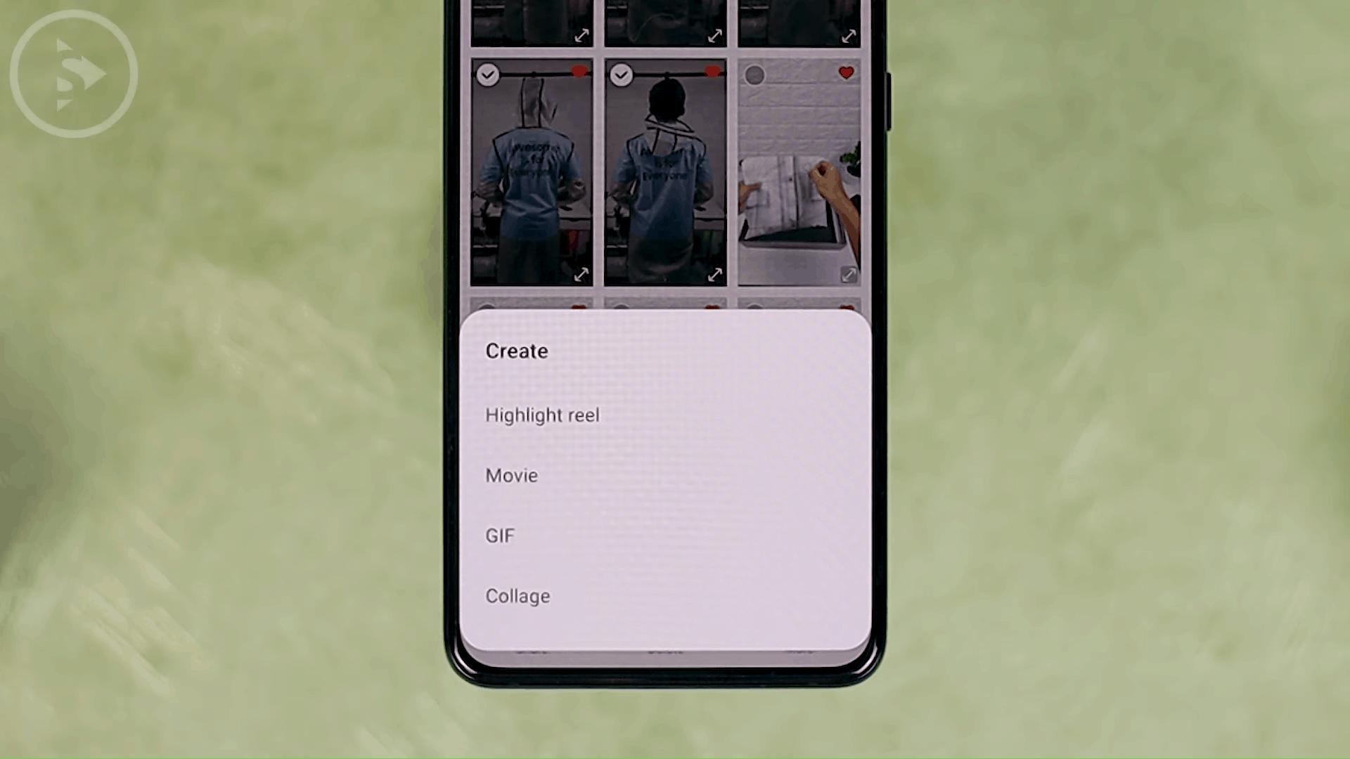 Create Highlight Reel - 4 Fitur Terbaru Untuk Edit Foto dan Video di Berbagai Versi One UI Tanpa Perlu Aplikasi Pihak Ketiga