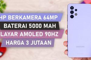 HP Samsung Layar AMOLED 90Hz, Baterai 5000mAH, Kamera 64MP dan Harga 3 Jutaan