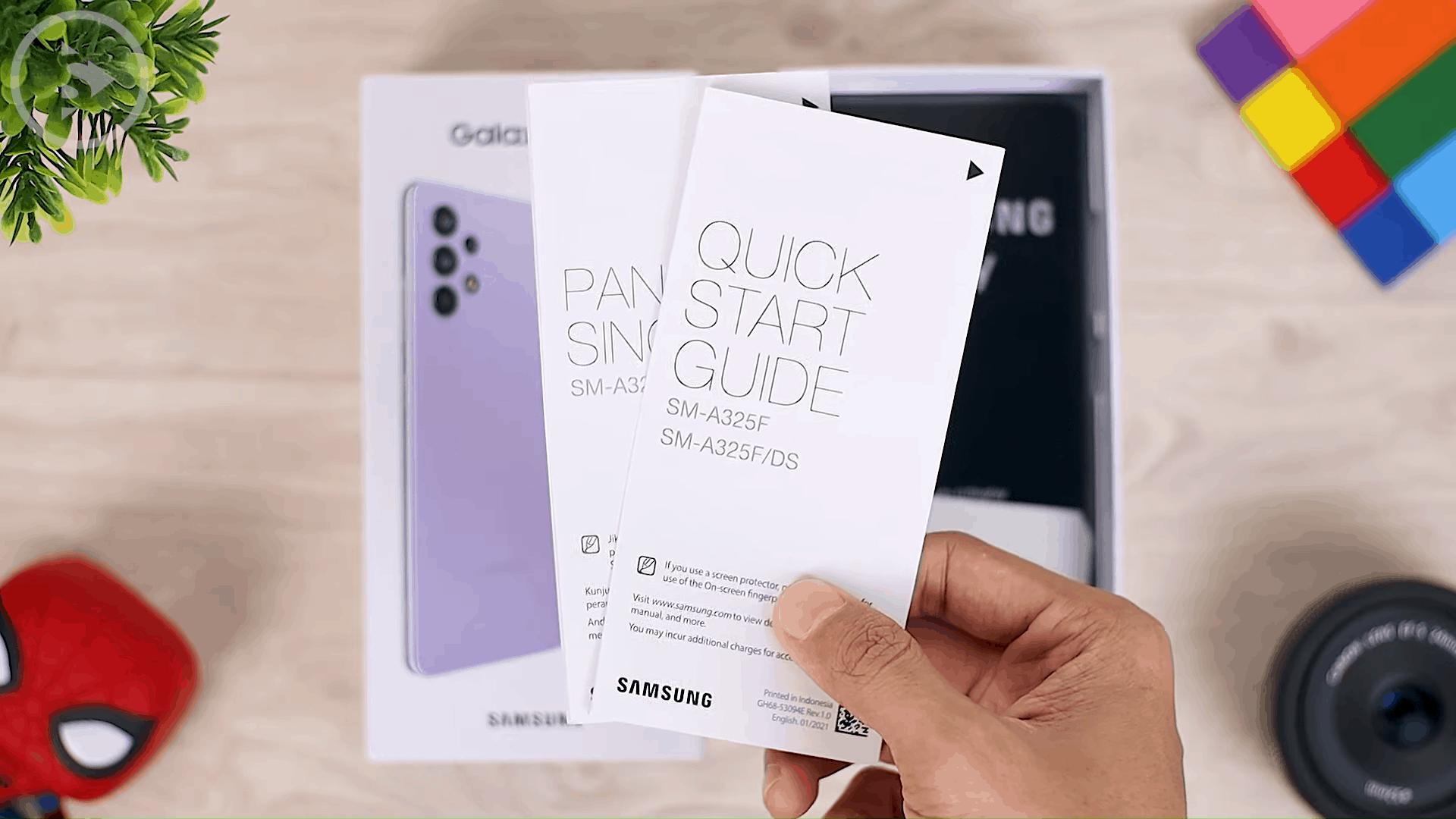 Isi Kotak Paket Penjualan Samsung Galaxy A32