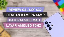 Review Samsung Galaxy A32 Violet